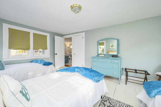 Bedroom 2 Sleeps 3 - 85 Pond Street South Yarmouth Cape Cod - New England Vacation Rentals