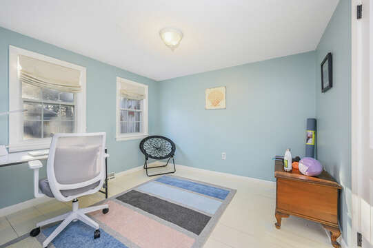Multi purpose room - is it an office or a yoga room?  You decide! - 85 Pond Street South Yarmouth Cape Cod - New England Vacation Rentals