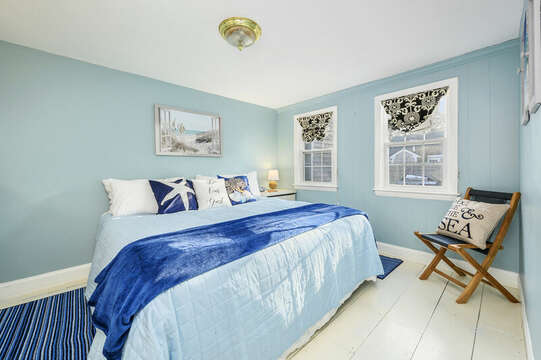 Bedroom 1 - King Bed - 85 Pond Street South Yarmouth Cape Cod - New England Vacation Rentals