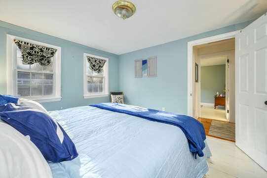 King Bed - Main Level - 85 Pond Street South Yarmouth Cape Cod - New England Vacation Rentals