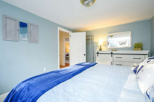 Main Level Master - 85 Pond Street South Yarmouth Cape Cod - New England Vacation Rentals