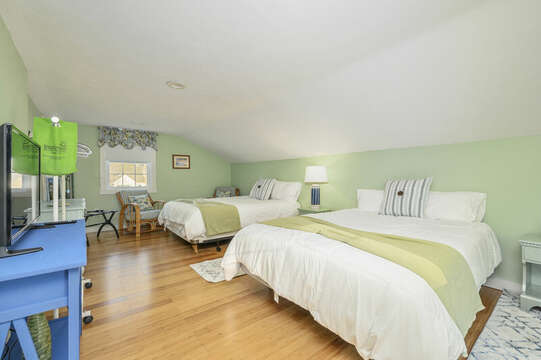 Bedsroom #3Two queen beds on upper level - 85 Pond Street South Yarmouth Cape Cod - New England Vacation Rentals