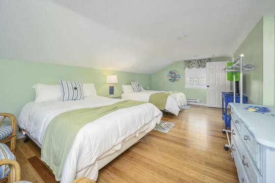 Beautiful serene green Bedroom #3 - 85 Pond Street South Yarmouth Cape Cod - New England Vacation Rentals