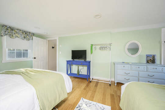 TV for night time viewing - 85 Pond Street South Yarmouth Cape Cod - New England Vacation Rentals