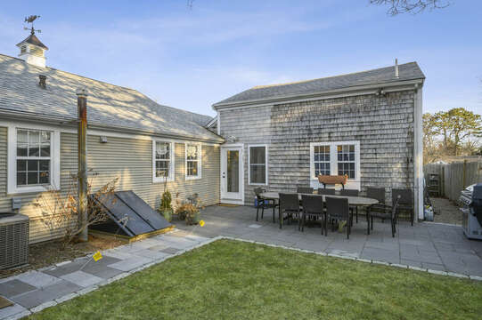 Grass for lawn games - 85 Pond Street South Yarmouth Cape Cod - New England Vacation Rentals