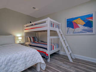 Fun extra guest bedroom on the second floor.