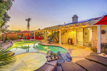 You will spend your entire trip outside in the pool or soaking up the sun!