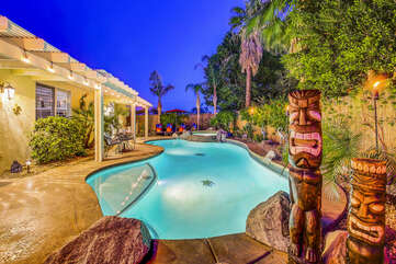 You will feel like you are in a resort while staying at Kokomo Palms.