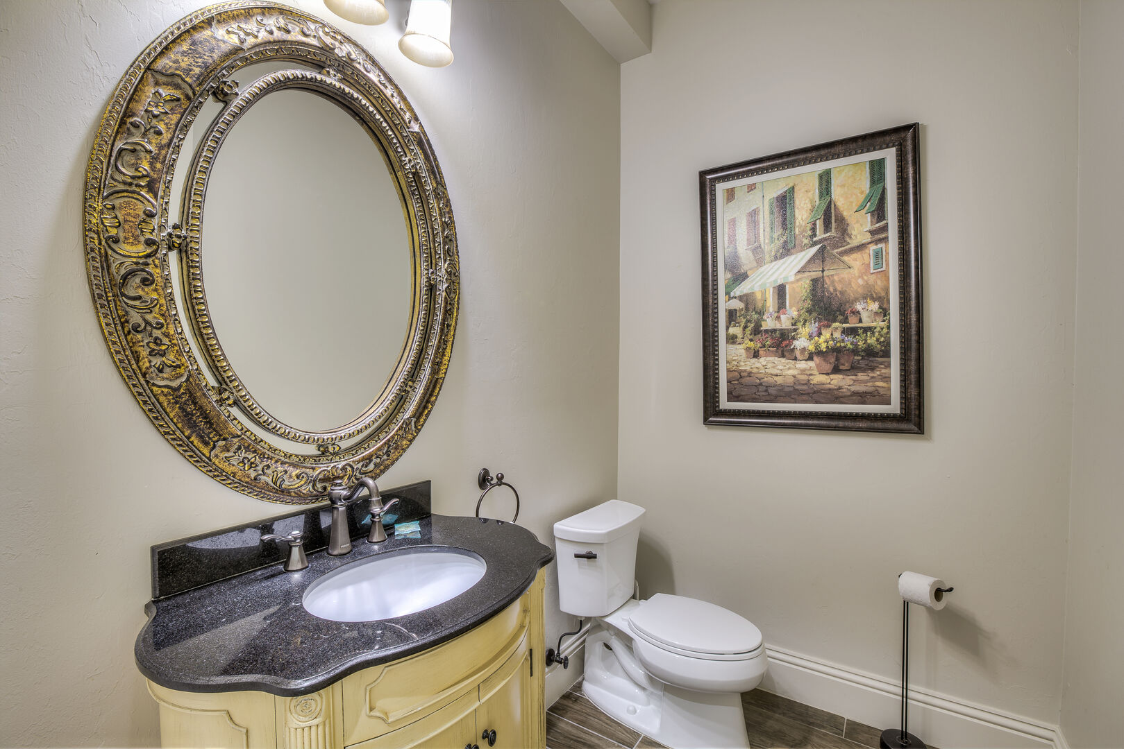 Half bath in our Fort Myers vacation home rental