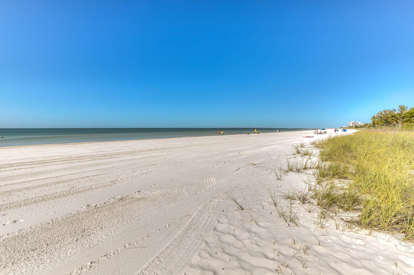 Sandy beach near our Fort Myers vacation home rental