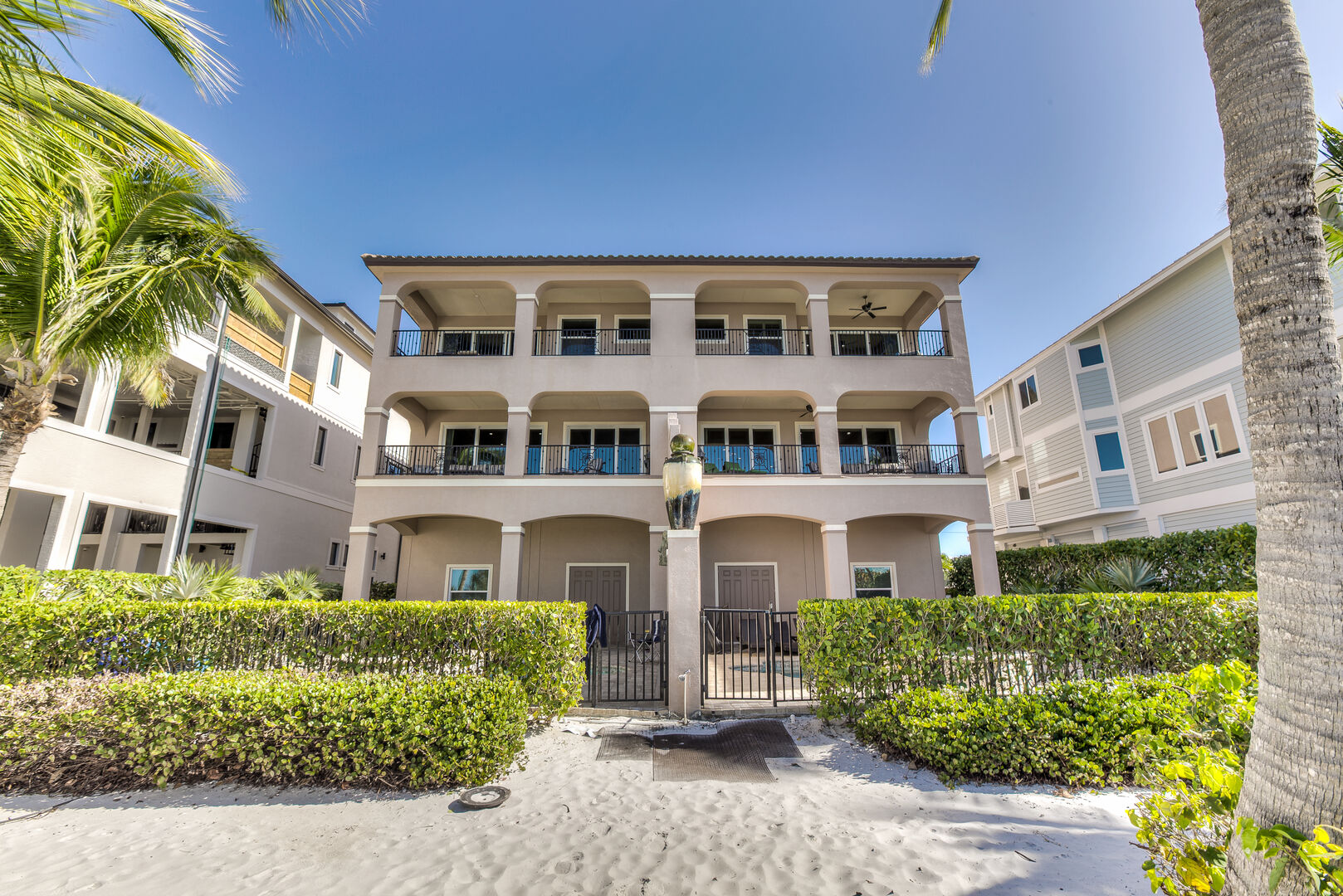 Exterior view of our Fort Myers vacation home rental