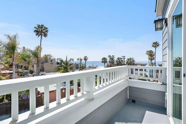 3rd Floor - Guest Bedroom - Balcony