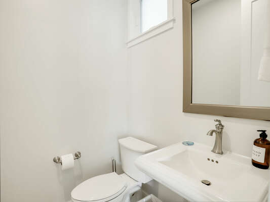 2nd Floor - Shared Half Bath (at top of stairs)