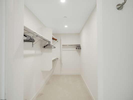 3rd Floor - Master Bedroom - Large Walk-In Closet