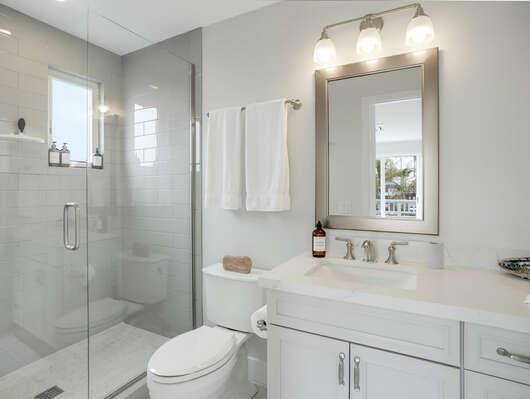 3rd Floor - Guest Bedroom En-Suite Bathroom w/ Shower