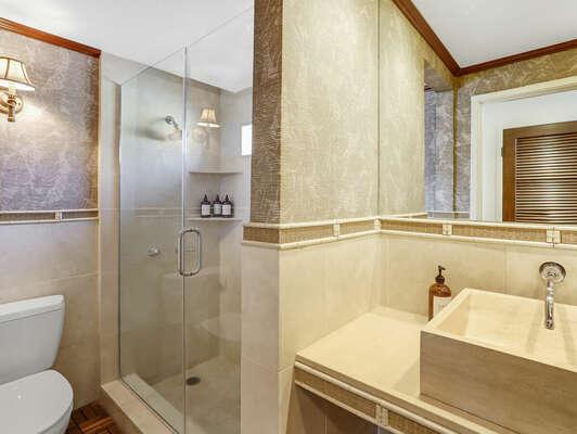 Guest Bathroom w/ Shower - 1st Floor