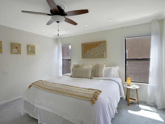 Guest Bedroom w/ King & En-Suite - 2nd Floor