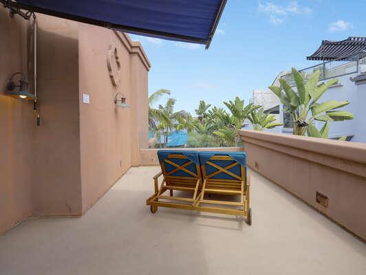Guest Bedroom Balcony w/ Bay Views - 2nd Floor