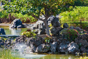 View Fountain from Lanai