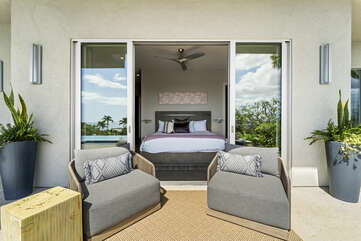 Fleur Suite is connected to the master bedroom.