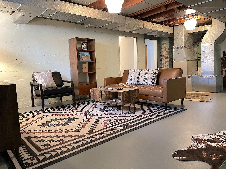 Basement Spacious Living Area