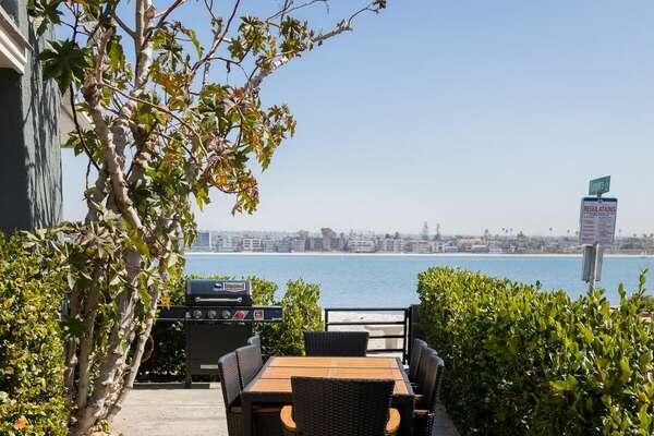 Wonderful Bayfront Views From Ground Floor Patio