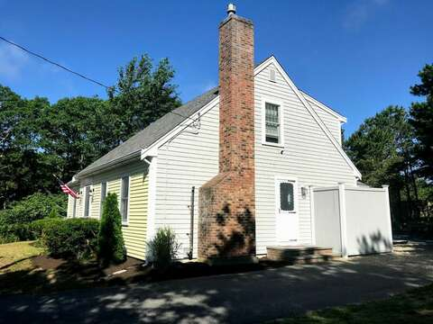 Enter this charming Cape home through the side door into the kitchen-46 Har-Wood Ave Harwich- Cape Cod- New England Vacation Rentals