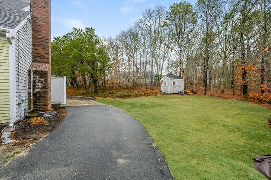 Driveway at -46 Har-Wood Ave Harwich- Cape Cod- New England Vacation Rentals