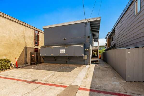 Exterior w/ 2 Carport Spaces