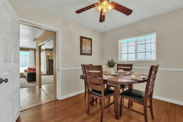 Breakfast Nook and Access to Master Bedroom 3