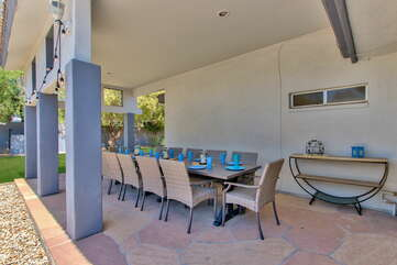Outdoor Dining for 10 People