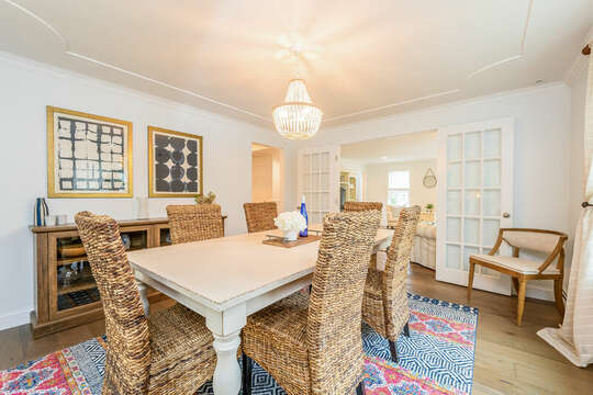 Dining room - 21 Moon Compass Lane Sandwich Cape Cod - New England Vacation Rentals
