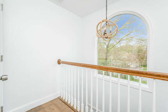 Awesome views from second floor landing - 21 Moon Compass Lane Sandwich Cape Cod - New England Vacation Rentals