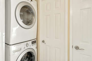 In-unit washer/dryer for your convenience