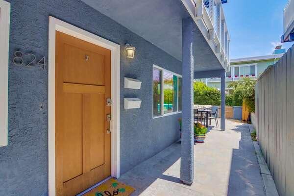 Front Door Entry