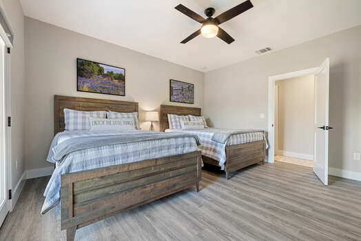 Master Bedroom 3 with Two Queen Beds, a 50