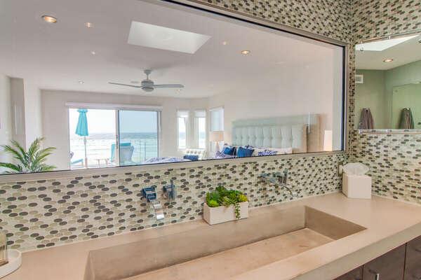 En-Suite Bathroom (window looks into master bedroom)