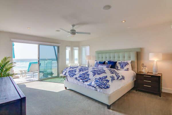 Oceanfront Master Suite w/ King & En-Suite Bathroom