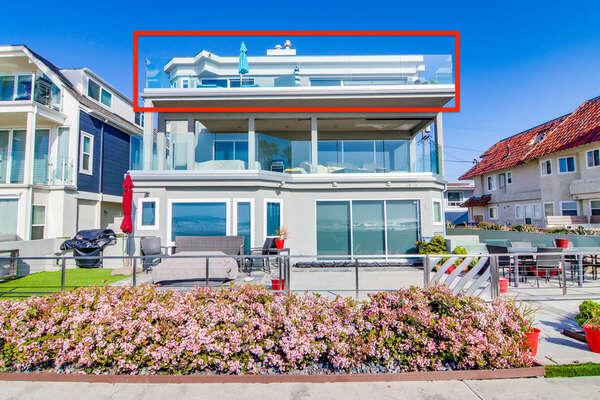 Exterior View - Penthouse Unit