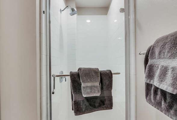 2nd Floor - Shared Bathroom w/ Shower