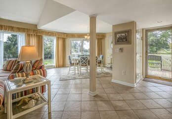 Enter this open floor plan villa and begin your vacation.