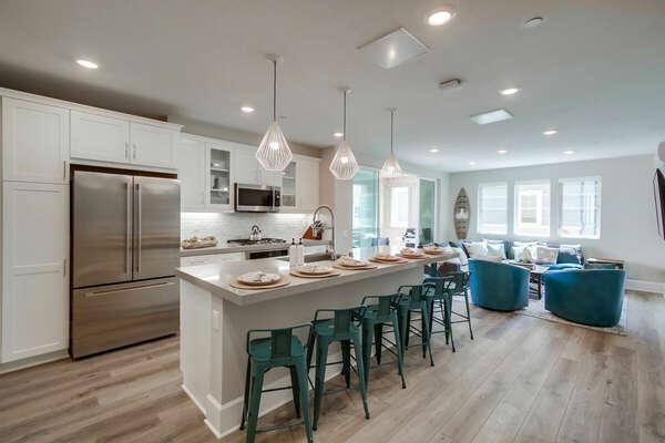 Second Floor - Kitchen & Living Area