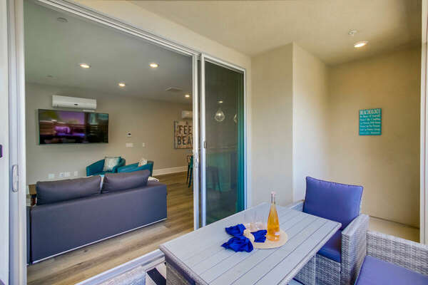 Second Floor - Deck w/ Outdoor Furniture and BBQ