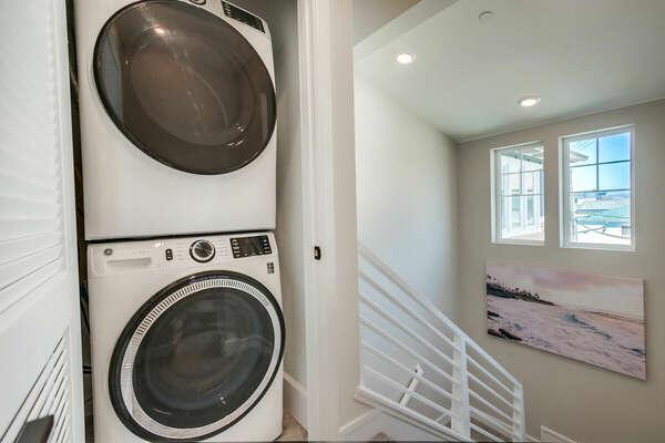 Third Floor - Stairway w/ Washer and Dryer