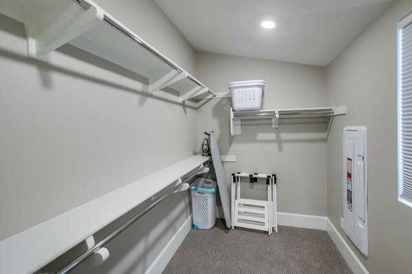 Third Floor - Master Bedroom w/ Walk-In Closet