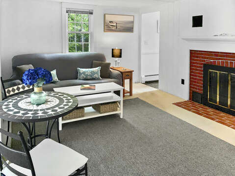 Cozy Family room with kitchen entrance -25 Zylpha Rd Harwich Port- Cape Cod- New England Vacation Rentals