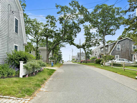 Ocean and beach at the end of the road-25 Zylpha Rd Harwich Port- Cape Cod- New England Vacation Rentals