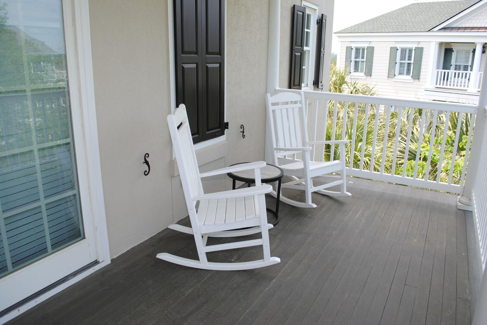 King Porch - Second Floor