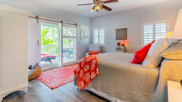 Master Bedroom with Access to a Private Lanai