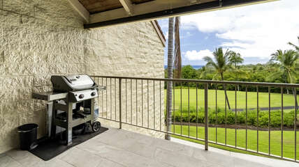 BBQ on your private lanai